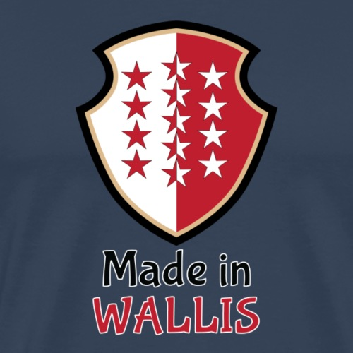 Made in Wallis - Valais - T-shirt Premium Homme