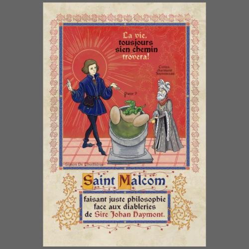Affiche Saint Malcolm - T-shirt Premium Homme