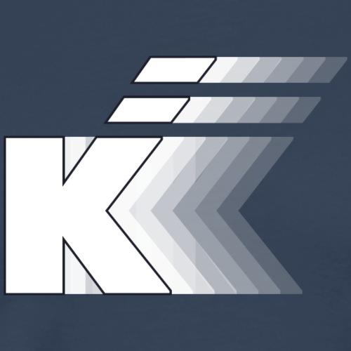 K gradient - Camiseta premium hombre