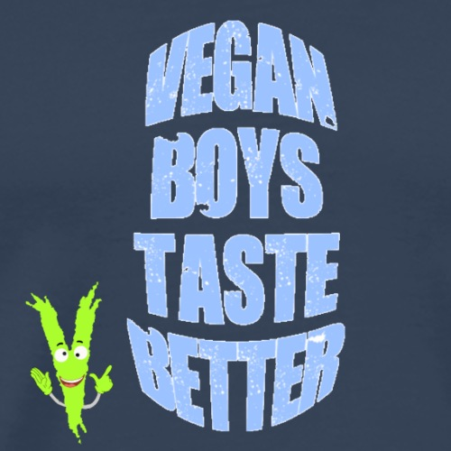 Vegan Boys taste better - Männer Premium T-Shirt