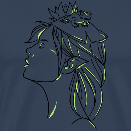 FILLE GRENOUILLE - T-shirt Premium Homme