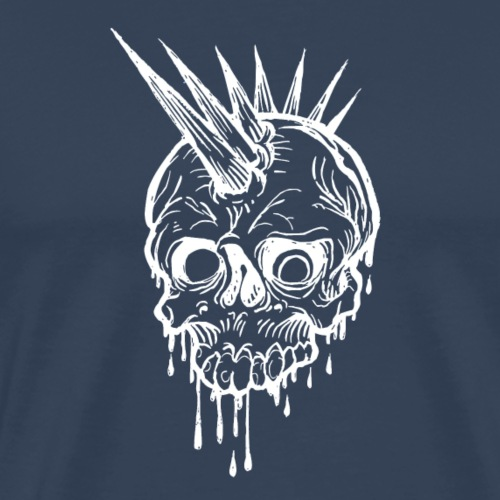 Skull and spikes - Männer Premium T-Shirt