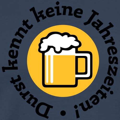 Bier Durst Jahreszeiten Sommer Oktoberfest Grill - Men's Premium T-Shirt