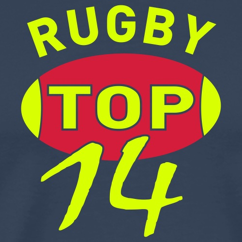 RUGBY TOP 14 - T-shirt Premium Homme