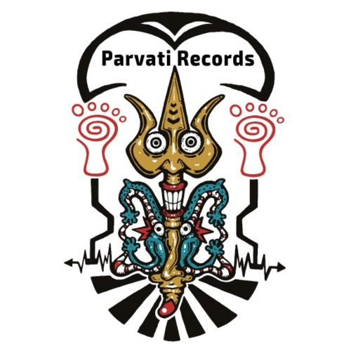 Parvati Records trishul - Men's Premium T-Shirt