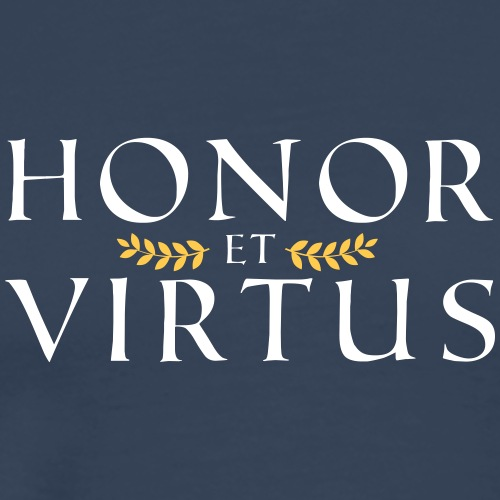 Honor Virtus 1 - Männer Premium T-Shirt