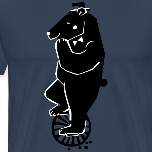 Einradbaer von grafitiny - Männer Premium T-Shirt