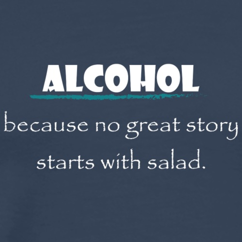 alcohol salad - Männer Premium T-Shirt