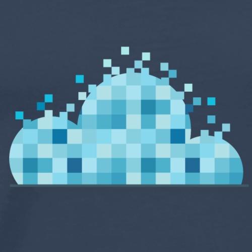 Cloudy Scanner - Mannen Premium T-shirt