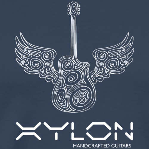 Xylon Guitars Premium T-shirt (white design) - Men's Premium T-Shirt