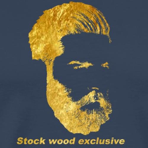 Stock Wood exclusive - Mannen Premium T-shirt