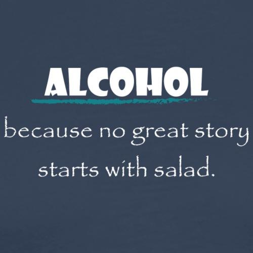 alcohol salad - Männer Premium T-Shirt
