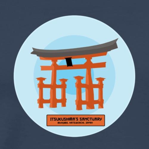 Miyajima - Maglietta Premium da uomo
