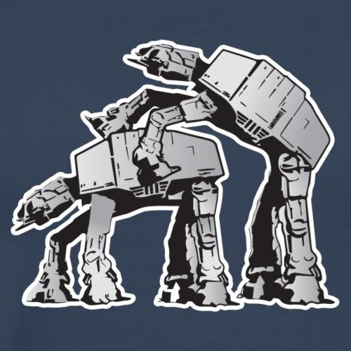 AT-AT Robot sex STAR, WARS - Männer Premium T-Shirt