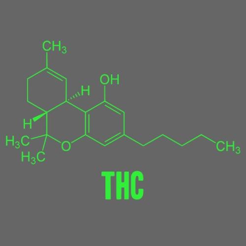 Molécula THC - Camiseta premium hombre