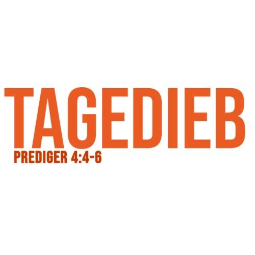 TAGEDIEB - Print in orange