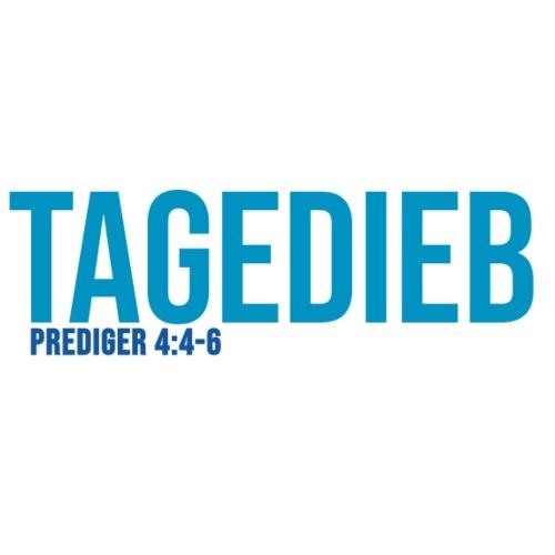TAGEDIEB - Print in blau