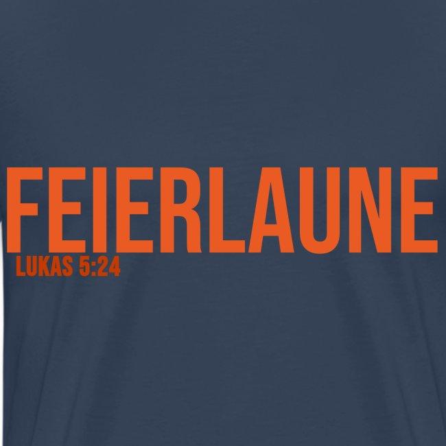 FEIERLAUNE - Print in orange