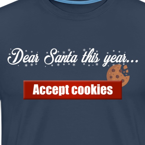Santa's cookies - Men's Premium T-Shirt