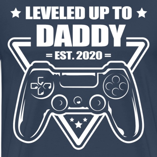 Daddy Level Up - Men's Premium T-Shirt