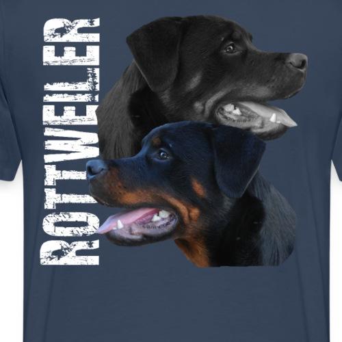 Rottweiler Wachhund Kampfhund Hundebesitzer Hunde - Männer Premium T-Shirt