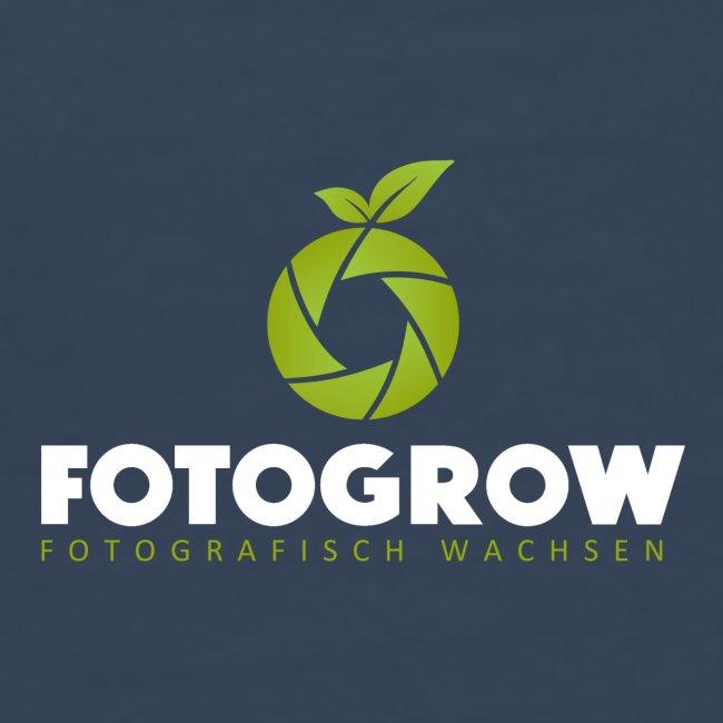 Logo Fotogrow weisse Schrift png