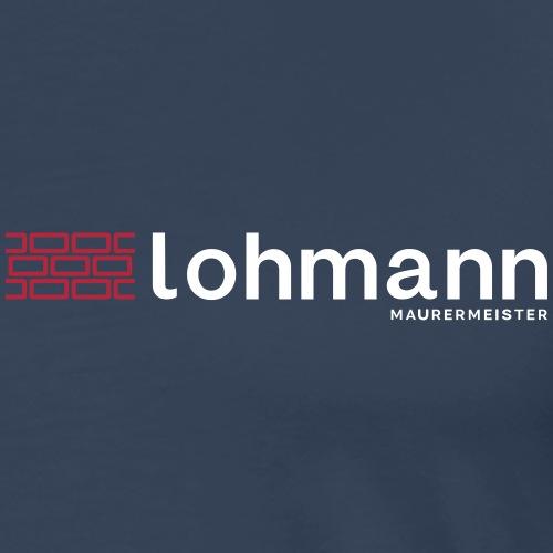 lohmannhellerhintergrund - Männer Premium T-Shirt