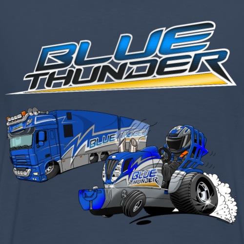 BlueThunder Combinatie - Mannen Premium T-shirt