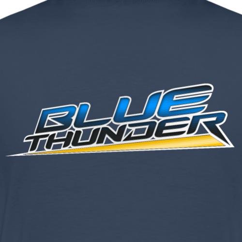 Blue Thunder - Mannen Premium T-shirt