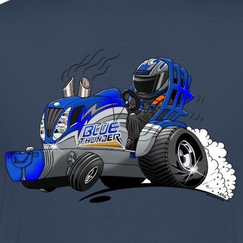 BlueThunder - Mannen Premium T-shirt