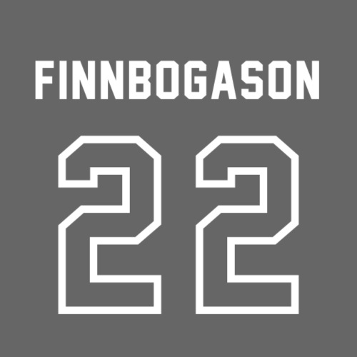 2-2 Finnbogason - Herre premium T-shirt