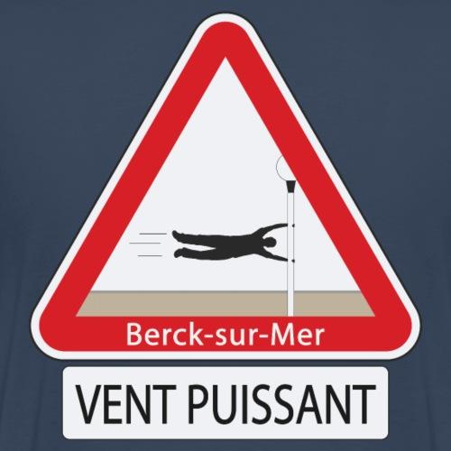 Berck-sur-mer: Vent puissant - T-shirt Premium Homme