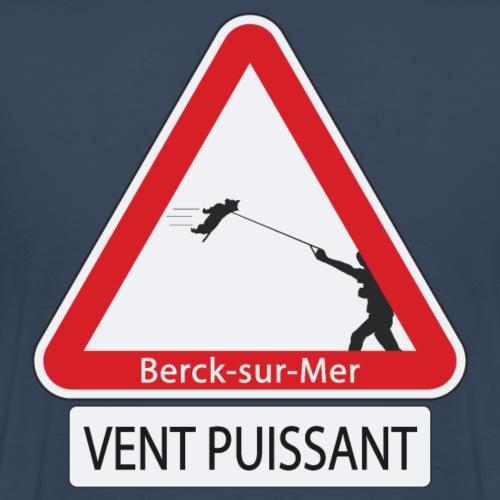 Berck-sur-mer: Vent puissant IV - T-shirt Premium Homme
