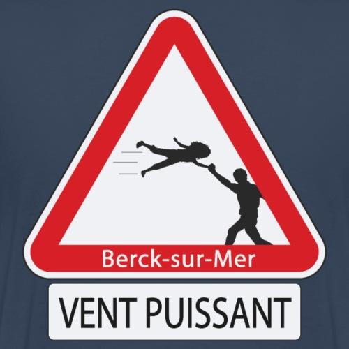 Berck-sur-mer: Vent puissant III - T-shirt Premium Homme