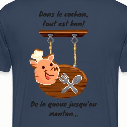Dans le cochon tout est bon!