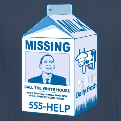 Missing Obama - Men's Premium T-Shirt