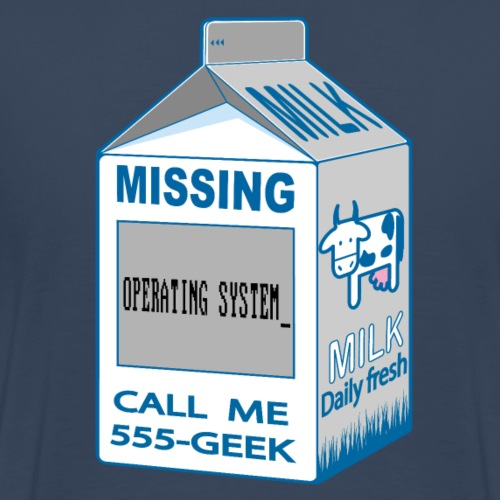Missing: Missing Operating system_ - Men's Premium T-Shirt