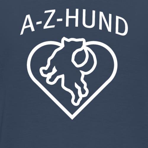 A-Z-Hund ohne WWW - Männer Premium T-Shirt