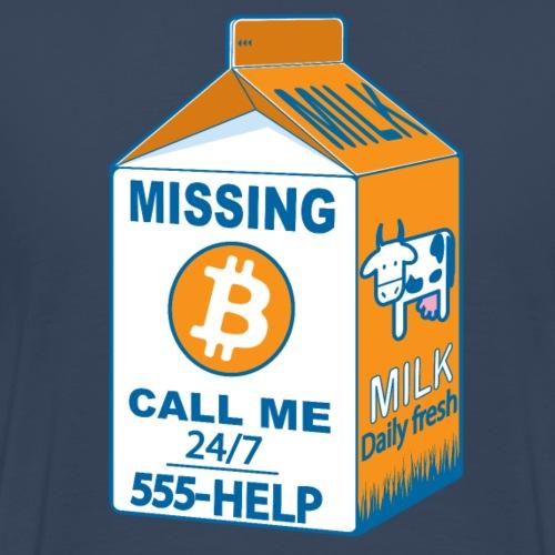 Missing :bitcoins - T-shirt Premium Homme