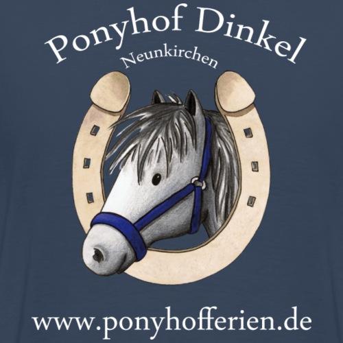 Ponyhof Dinkel Logo - Männer Premium T-Shirt