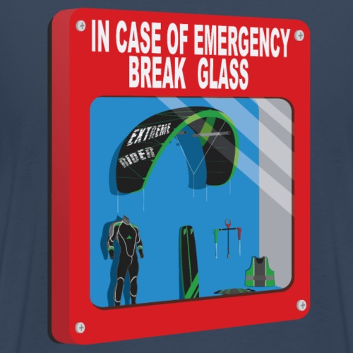 Emergency box - kiteboard - T-shirt Premium Homme
