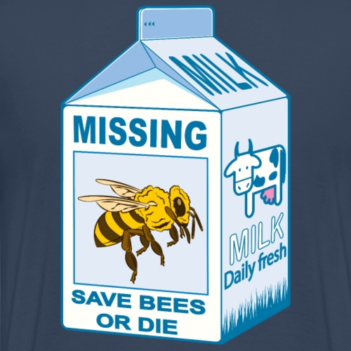 Missing: Bees - Where are our bees? - Men's Premium T-Shirt
