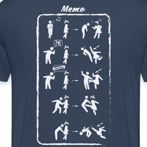 Memo Anti-harassment - Men's Premium T-Shirt