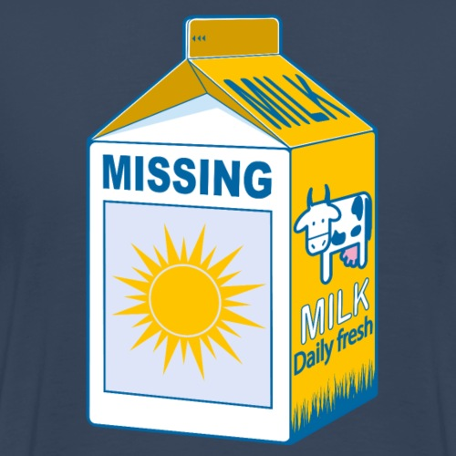 Missing : sun - Men's Premium T-Shirt