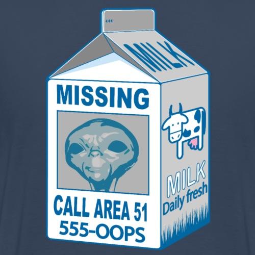 Missing: alien - Men's Premium T-Shirt