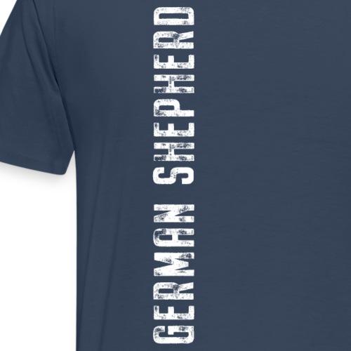 German Shepherd Vertical - Männer Premium T-Shirt