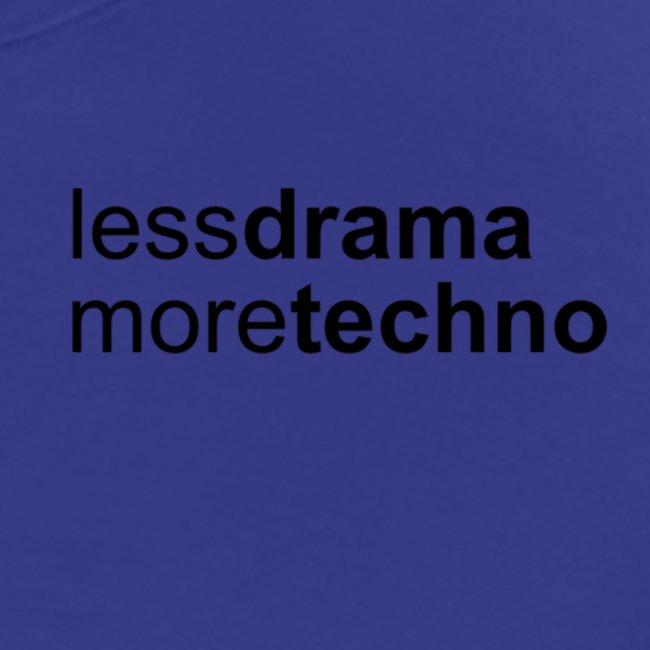 Less Drama nero png