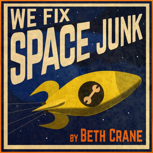 We Fix Space Junk logo (square)