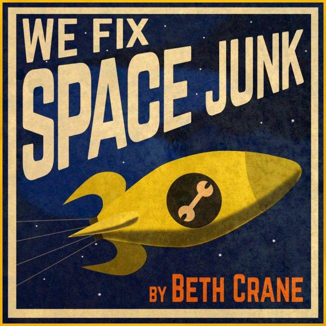 We Fix Space Junk logo (square)