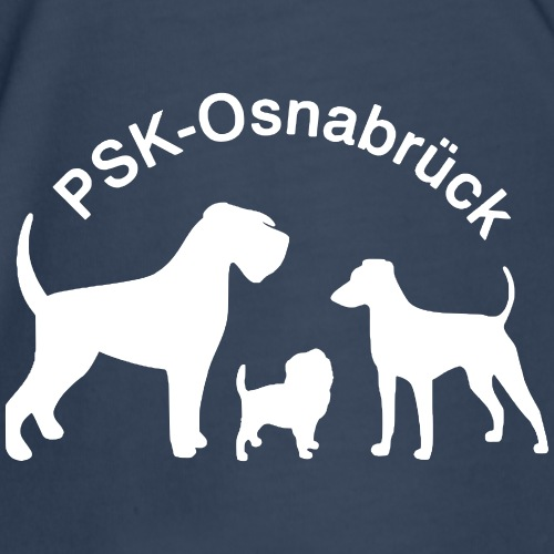 PSK-Logo Weiß - Männer Premium T-Shirt